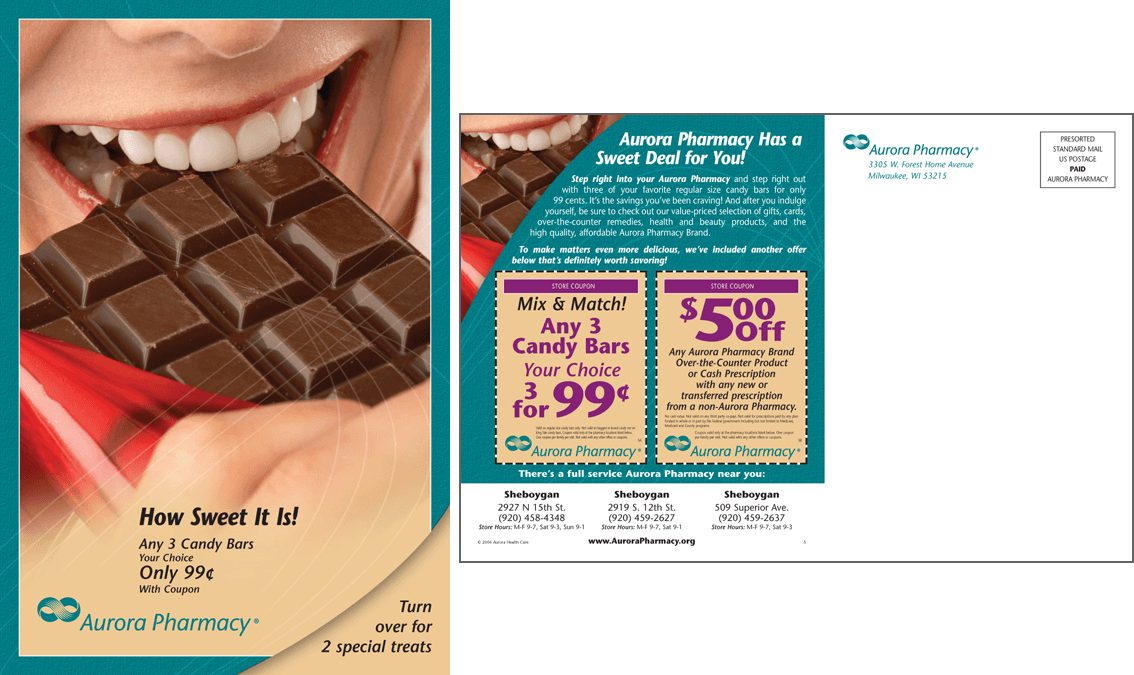 Aurora Pharmacy Post Card Campaign #3