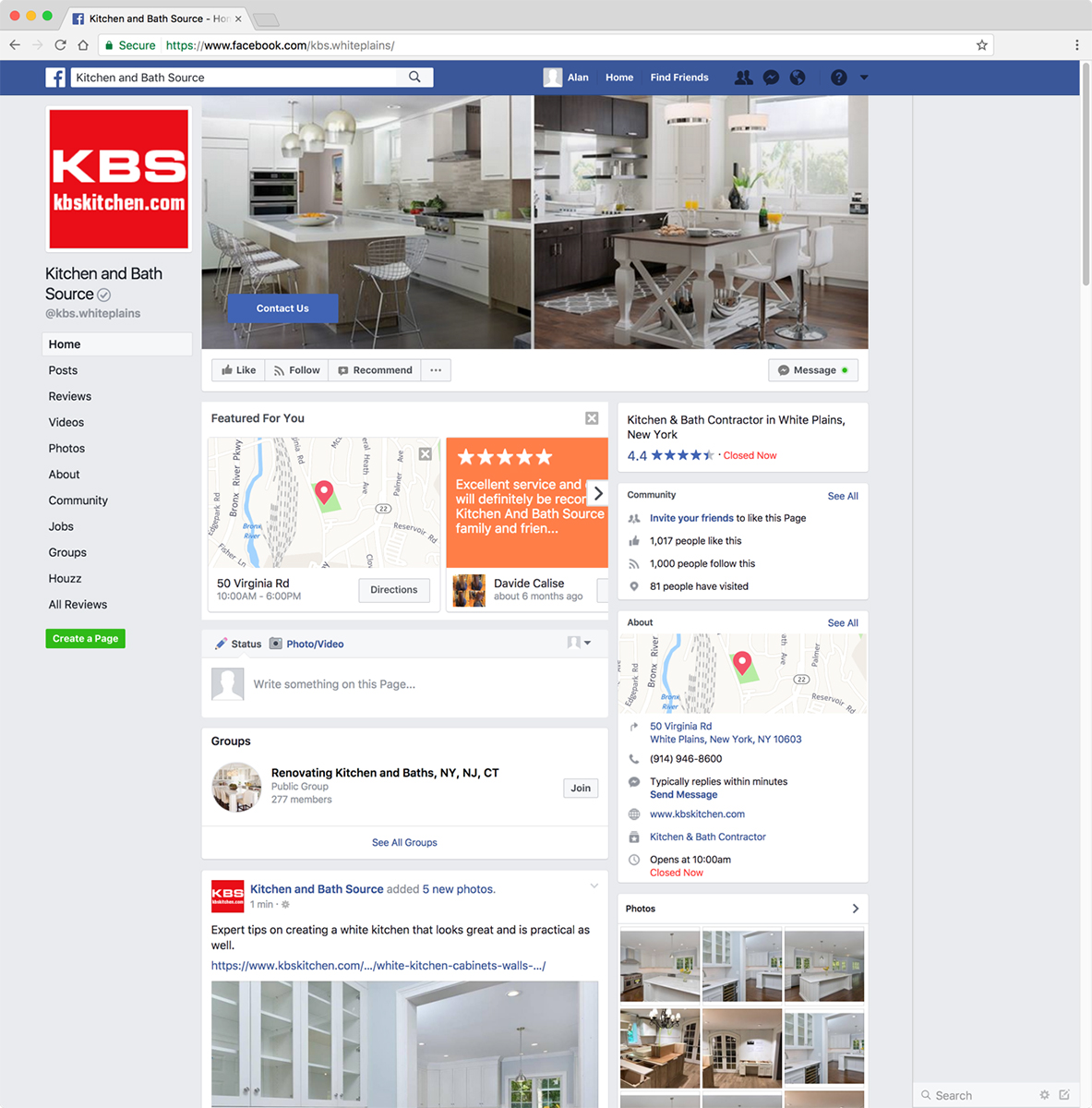 KBS/Kitchen and Bath Source Facebook Page