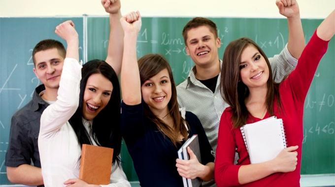 Gli esami scolastici anche all'estero non finiscono mai