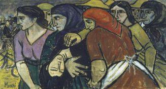 Maria Mucchi La morte di Maria Margotti 1949