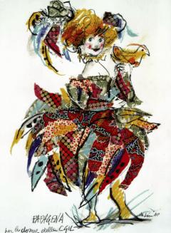 Papagena di Emanuele Luzzati 2003