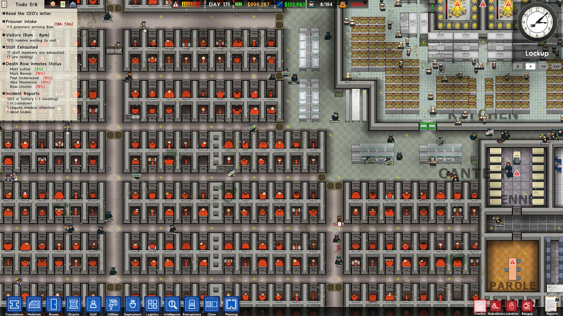 Delightful Prison Architect (PC) Review 3