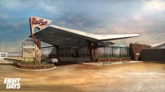 Concept Art for Cancelled PS3 Title Eight Days Unveiled - 2015-11-30 09:56:20