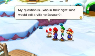 Mario and Luigi: Paper Jam (3DS) Review 4