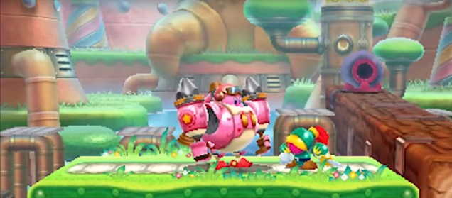 Kirby: Planet Robobot (3DS) Review 6
