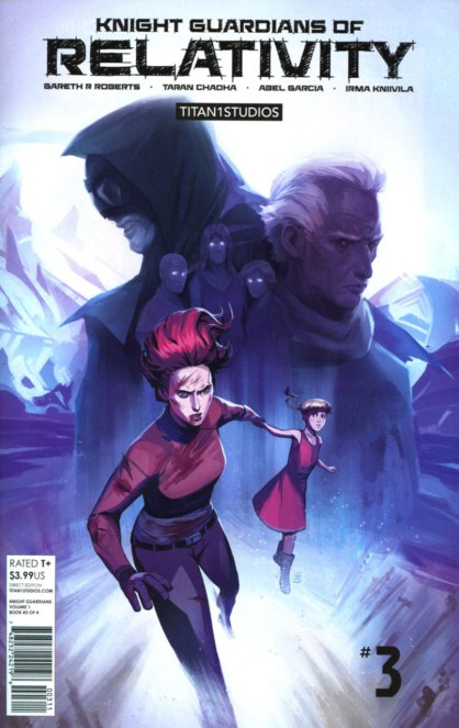 Knight Guardians of Relativity #1-3 Review 1