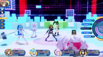 """Superdimension Neptune VS Sega Hard Girls will be available on Steam this summer, according to a press release sent out by Idea Factory. Originally for the PlayStation Vita, Superdimension Neptune VS Sega Hard Girls is a JRPG that first released in October, 2016. The new Steam release will feature updated 1080p visuals in order to match the new platform. Superdimension Neptune VS Sega Hard Girls Stars Hyperdimension Neptunia regular Iffy (a personified version of Idea Factory) as she joins up with personifications of the Sega consoles known as the Sega Hard Girls in order to save history after the past starts to mysteriously vanish. The game features other popular characters from the Hyperdimension Neptunia series allowing for exclusive interactions between the two casts. Superdimension Neptune VS Sega Hard Girls' features many mechanics new to the series such as a class changing system, allowing for customizable stats and new special skills. Outside of battles, players maneuver through dungeons, finding loot while destroying obstacles. Superdimension Neptune VS Sega Hard Girls is a spin-off entry in the long running Hyper Dimension franchise is developed by Compile Heart. The series centers around Neptune, the goddess of Planeptune and the personification of an unreleased console, the Sega Neptune. She is joined alongside her friends and family, representing other video game consoles and other third party developers as they take on foes who threaten the world of Gamindustri. The series is best known for its use cute and unique character designs along with the series humor based around gamer culture. Sega Hard Girls is a 13 episode anime series that aired in Japan in 2014. Developed as a collaboration between Dengeki Bunko and Sega, the project focused on various anthropomorphized Sega consoles known as """"Sega Hard Girls"""" as they attempt to graduate from Sehagaga Academy by venturing into the worlds of various Sega titles. No exact release date of the PC release of S"""