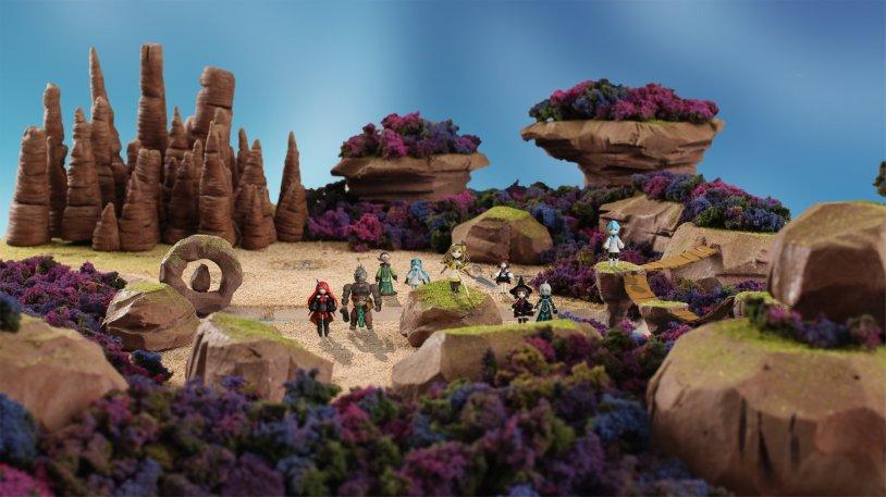 Mistwalker Announces Two Follow-up Games to Terra Battle 4