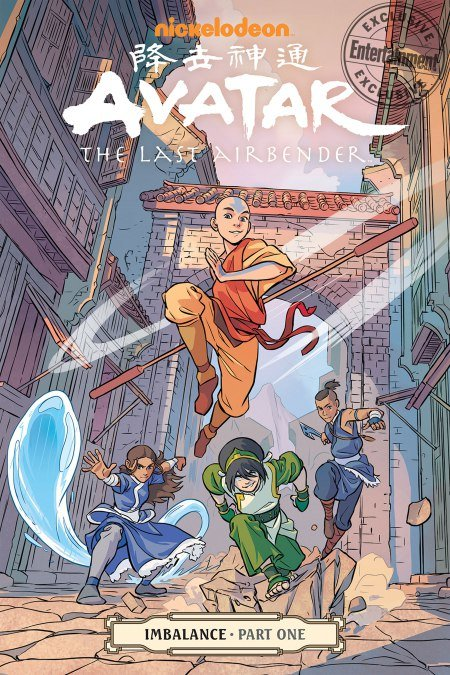 New Avatar The Last Airbender Graphic Novels Announced 2