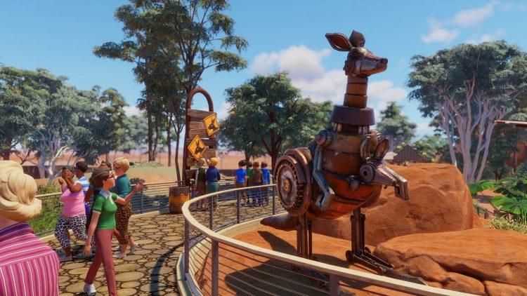Kangaroos and Koalas on their way to Planet Zoo