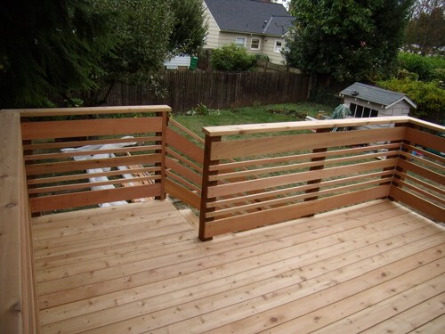 Unique deck railing ideas for privacy to get your deck into tip-top shape