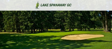 Lake Spanaway Golf Course  10 Round Off Season Punchcard