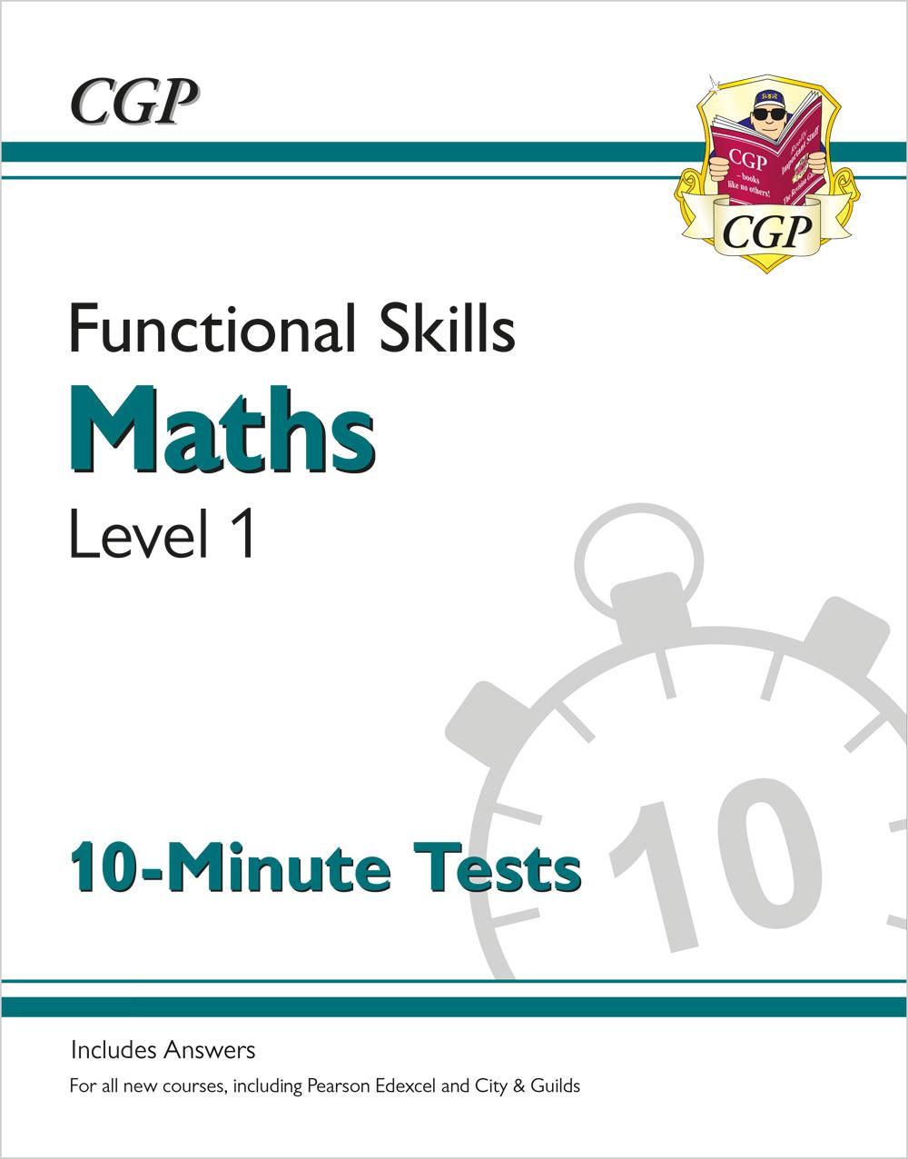 New Functional Skills Maths Level 1