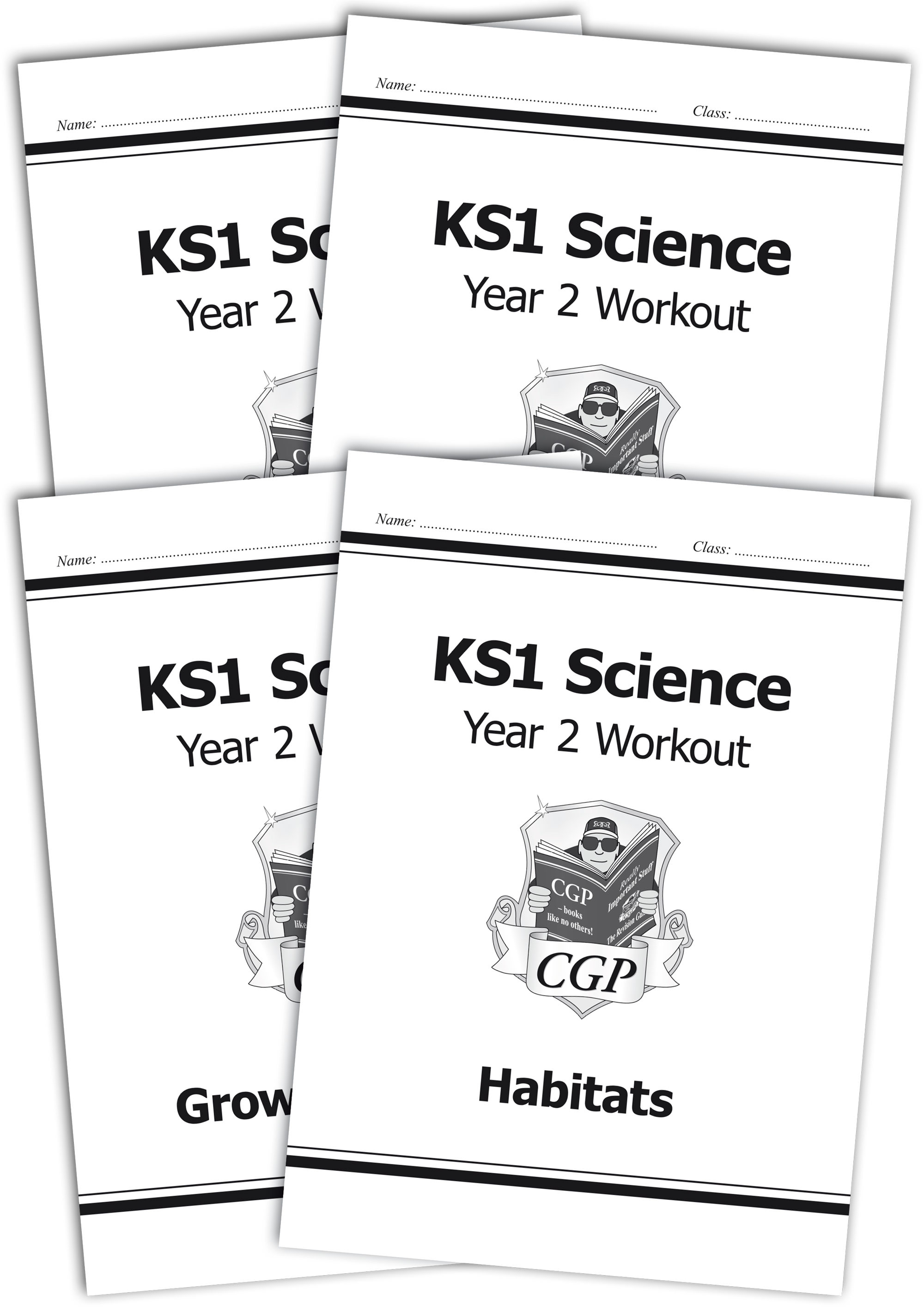Ks1 Science Year Two Workout Habitats