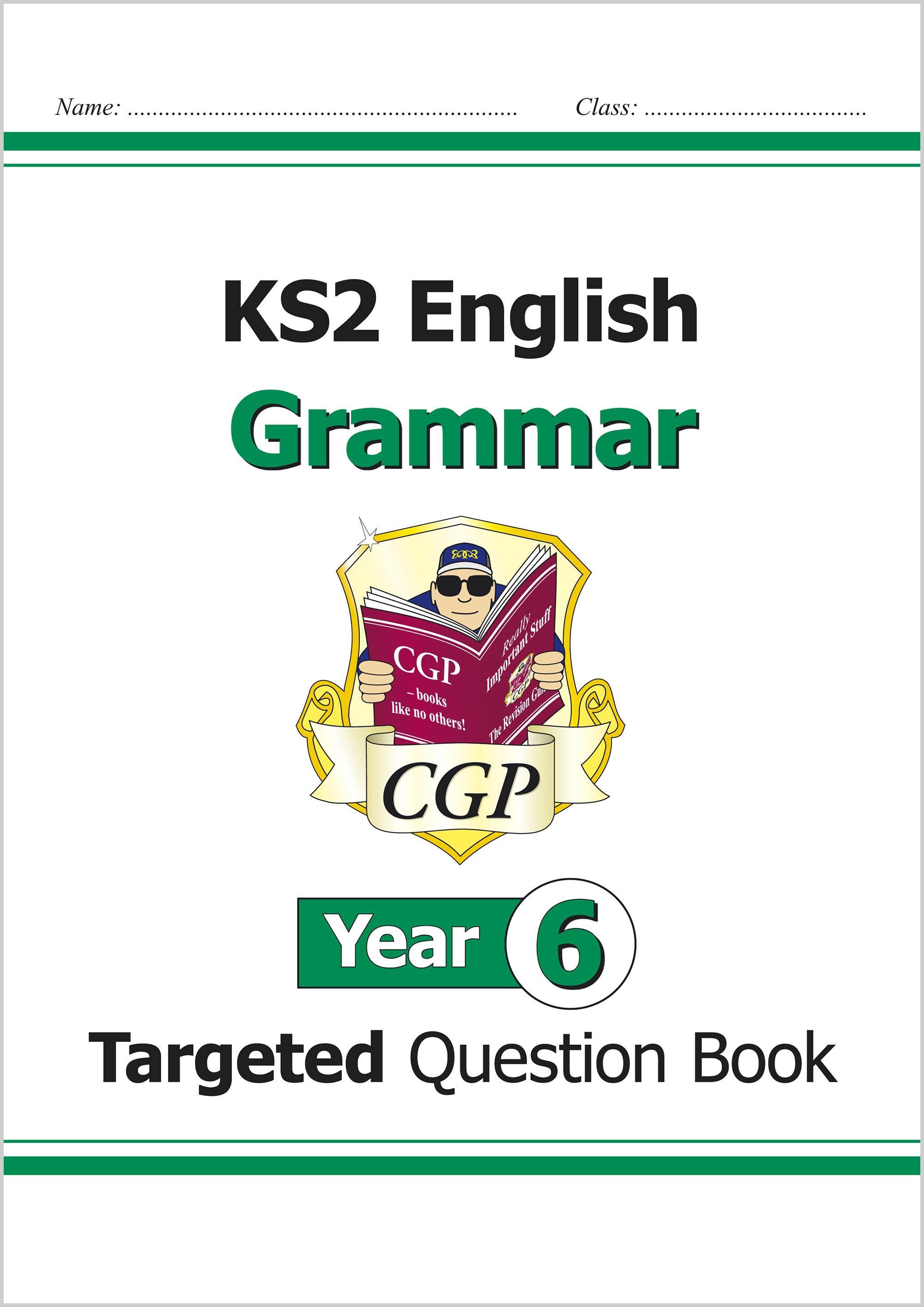 Ks2 English Targeted Question Book Grammar