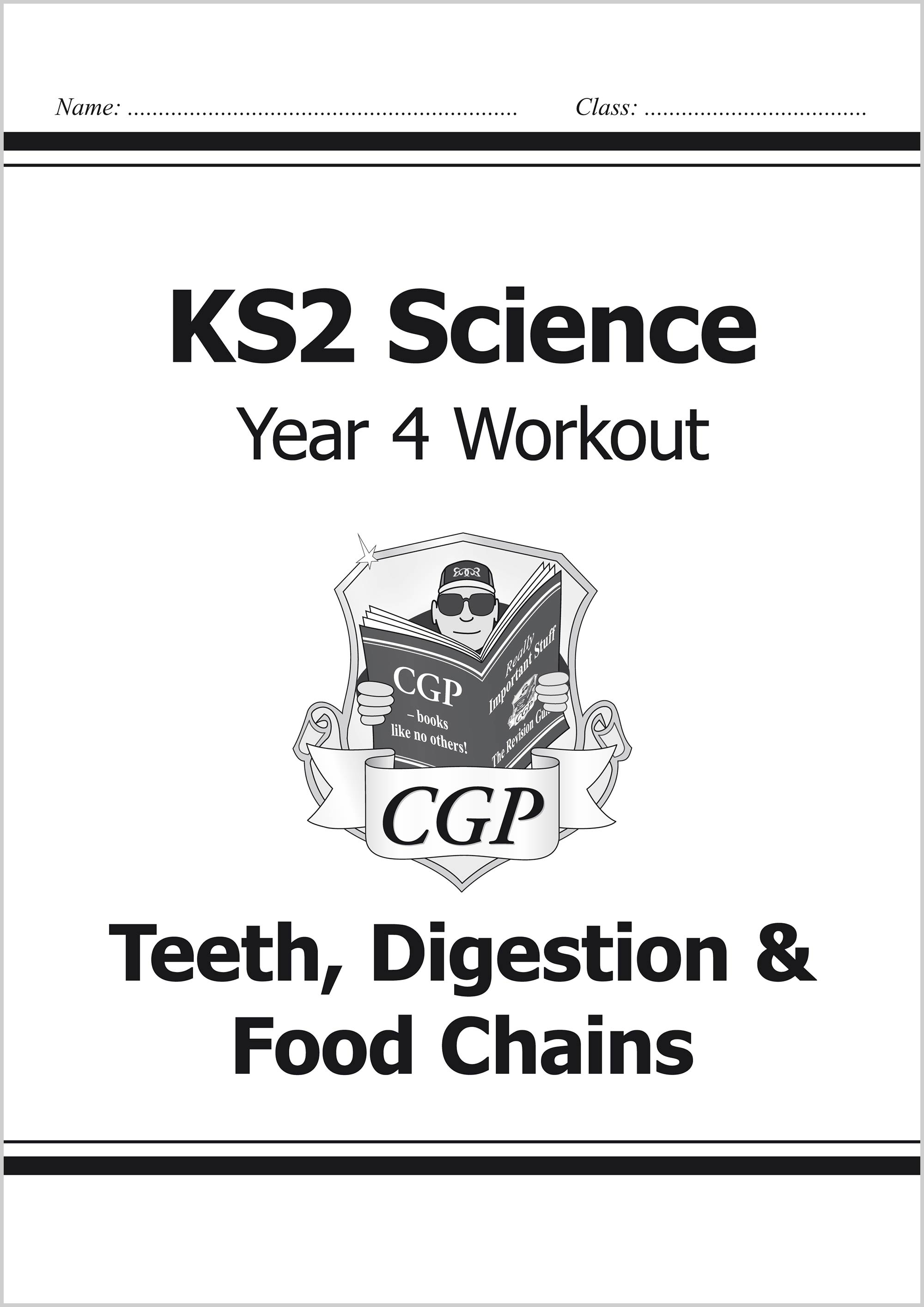 Ks2 Science Year Four Workout Teeth Digestion Amp Food Chains