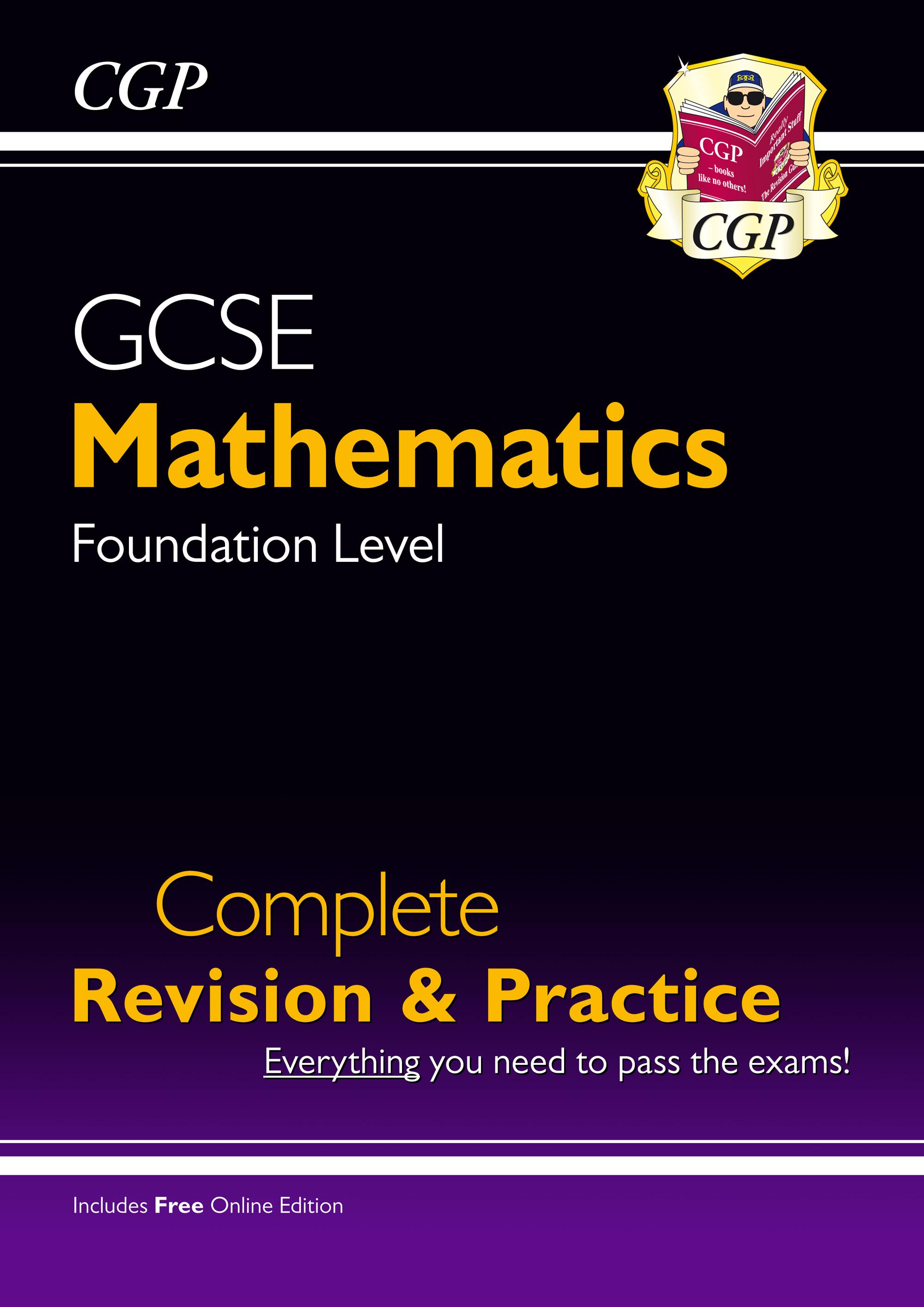 Gcse Maths Complete Revision Amp Practice Foundation