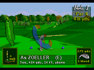 Developer: NuFX Publisher: Electronic Arts Genre: Sports/Golf Released: 1995 Rating: 1.5