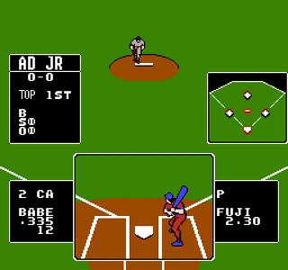 Developer: SNK Publisher: Nintendo Genre: Sports/Baseball Released: July 1989 Rating: 4.5