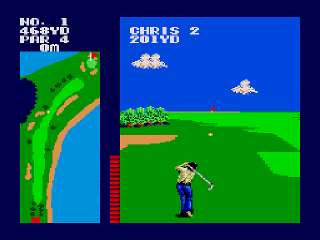 Developer: Sega Publisher: Sega Genre: Sports/Golf Released: 1987 Rating: 2.0