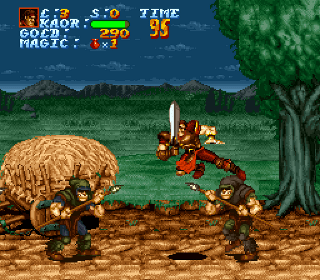 Developer: Arcade Zone Publisher: Seika Genre: Beat 'Em Up Released: April 1994 Rating: 2.0