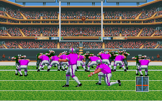 TV Sports Football on the TurboGrafx-16