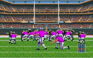 TV Sports Football on the TurboGrafx-16