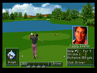 Developer: Polygames Publisher: Electronic Arts Genre: Sports/Golf Released: 1994 Rating: 5.0