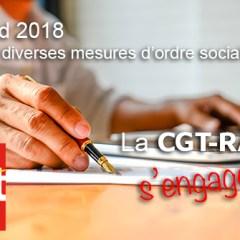 NAO 2018, la CGT RATP s'engage !