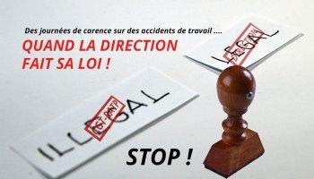 Stop Aux Jours De Carence En Cas D Arret Maladie Cgt Ratp