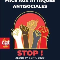 1000 raisons d'être en colère,  une façon de l'exprimer :  Mobilisons-nous le 17 septembre !