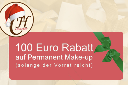 Permanent Make-Up: Weihnachtsaktion 2015