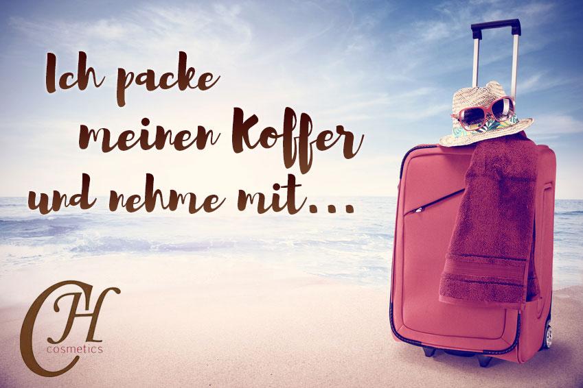 Ich Packe Meinen Koffer Und Nehme Mit