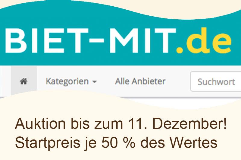 """Auktion """"biet-mit"""" Bergisch Gladbach und Umgebung"""