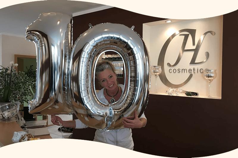 10 Jahre CH cosmetics – ein Grund zum Feiern!