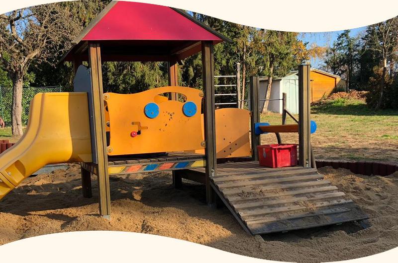 Neuer Sandkasten für Kita Katterbach!