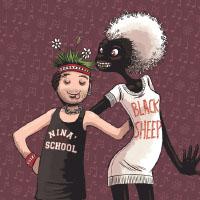 Nina's School Black Sheep