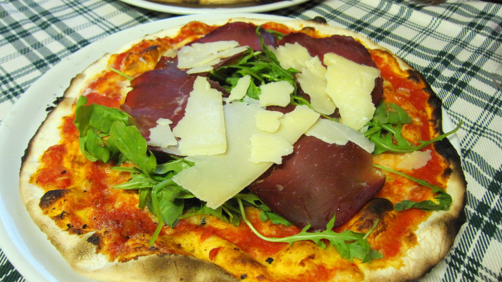 Pizza Arugula Lettuce