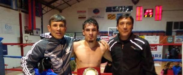 Boxeo: Federico Herreras, campeón de la Liga Bonaerense