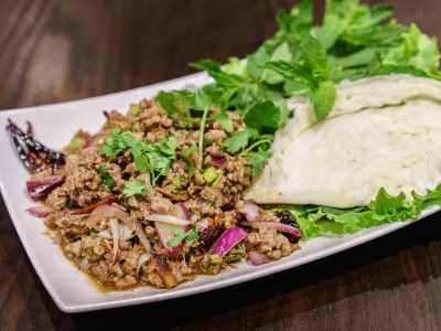 Spicy Chicken or Pork Salad (Larb)