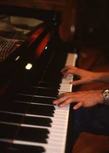 Chad Beall Hands Playing Piano