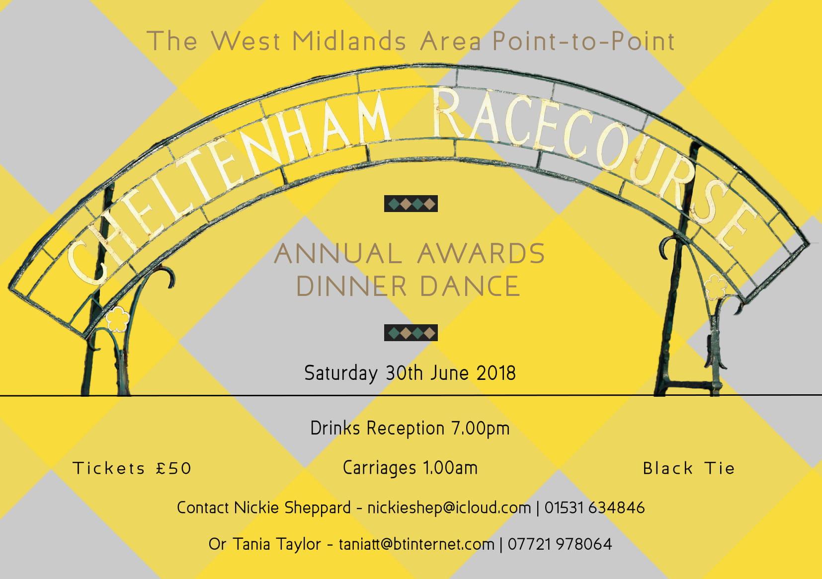 The West Midlands Area Annual Awards & Dinner Dance 2018