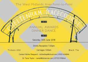 The West Midlands Area Annual Awards & Dinner Dance 2018
