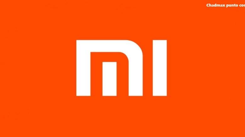 Logo Xiaomi blanco y naranja