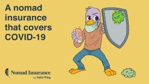 Safetywing seguro de viajes que te protege contra el COVID-19