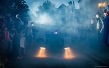 But out of the fog comes a familiar car... (© Simon Blackbourn)