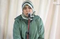 نادية بلغازي وكلمة باسم نساء العدل والإحسان في تأبين الراحلة المجاهدة خديجة المالكي رحمها الله