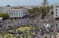 مسيرة الرباط المليونية روبورطاج المسيرة الوطنية
