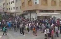 الشعب يتحدى المنع وينجح في مسيرة العيد التاريخية بالحسيمة