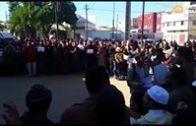 مشهد من وقفة مسجدية بالقنيطرة تضامنا مع القدس